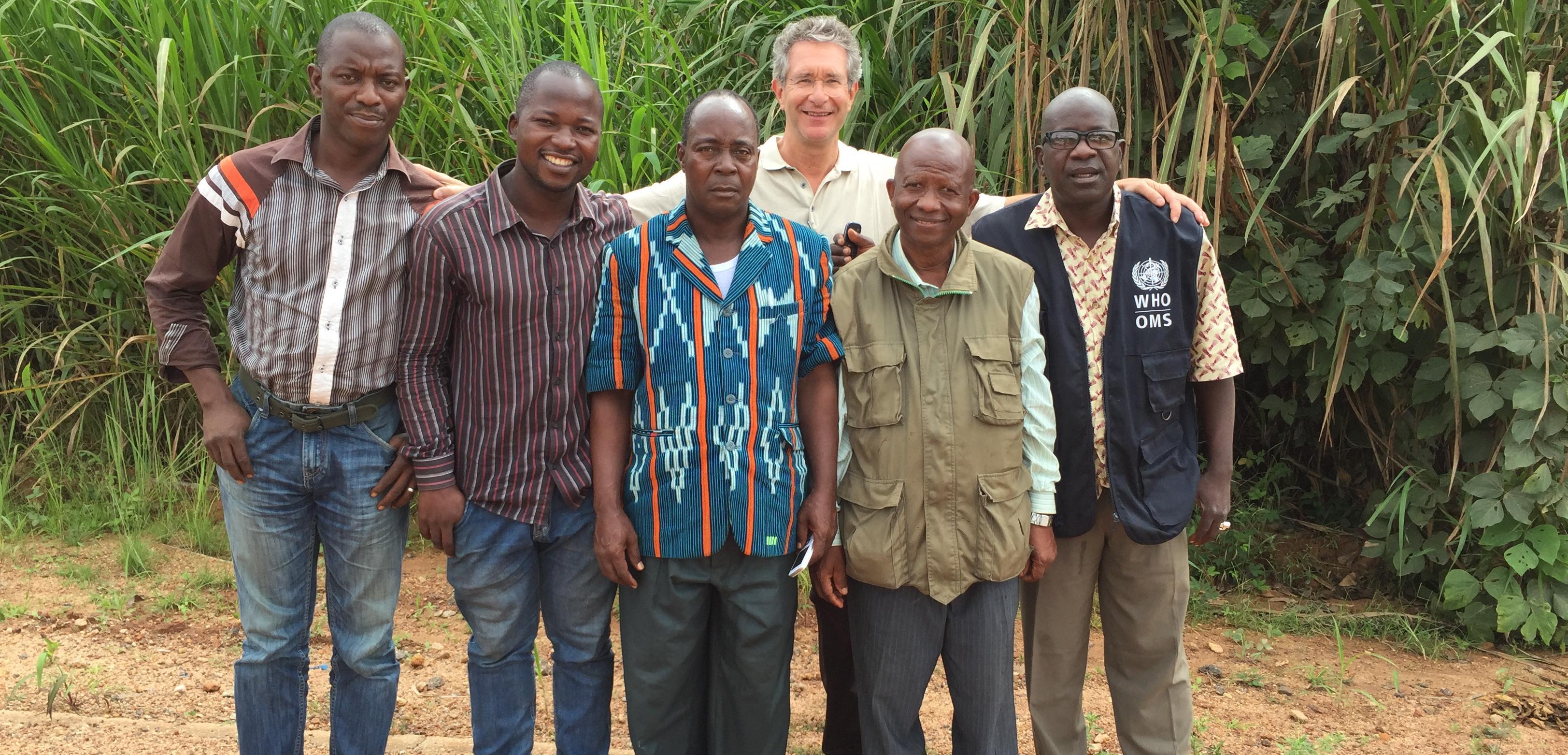 Ebola Team in Guinea